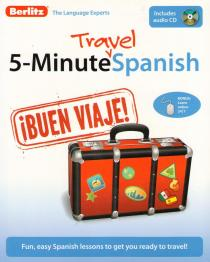 Фото книги 5-MINUTE TRAVEL SPANISH+CD